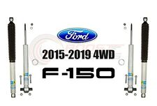 Bilstein B8 5100 Adjustable Front Shocks w/ Rear Set For 2015-19 Ford F-150 4WD