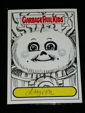 GARBAGE PAIL KIDS - 2012 Brand New Series 1 - LAYRON Sketch Card - OS4 138 -BNS1