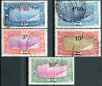 COLONIES CÔTE DES SOMALIS N° 117/21 Oblitérés