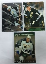 3 Jamie Langenbrunner 1996-97 RCs Leaf #225, Select Certified 115, Donruss Elite