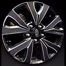 "17"" Wheel 4D Real Carbon Mask Decal Sticker For Kia Rondo : All New Carens"