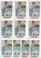 2014 Bowman Draft Jack Flaherty (10) Card Paper Lot First Year Rookie Cardinals