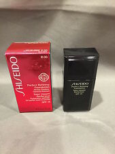 NIB Shiseido Perfect Refining Foundation  D30 Very Rich Brown SPF 15 1oz / 30ml