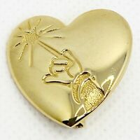 Disney Arm & Wand Heart Lapel Pin The Variety Club Mickey Sorcerer Released 2001