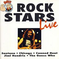 Various Artists - Rock Stars Live (CD) (1996)