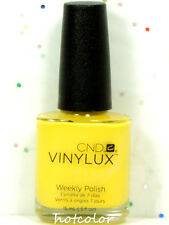 Cnd Vinylux semanal color polaco 104 Bicyle amarillo 15ml