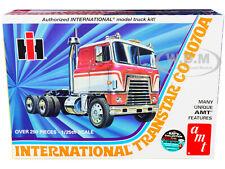 SKILL 3 MODEL KIT INTERNATIONAL TRANSTAR CO-4070A TRACTOR 1/25 MODEL AMT AMT1203