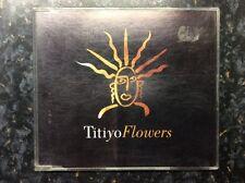 TITIYO - FLOWERS - 1990 UK CD SINGLE @@LOOK@@