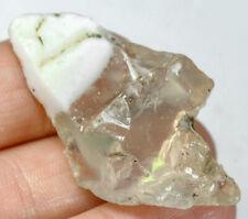 40.15Ct Ethiopian Crystal Black Opal Rough Clarity Enhanced YSJ3612