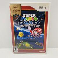 Super Mario Galaxy: Nintendo Selects (Nintendo Wii, 2007) W/ Manual,  Free Ship