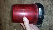 SPEAKER BRAND MODEL 540R RED ELECTRIC FORK LIFT STROBE BEACON LIGHT 24v