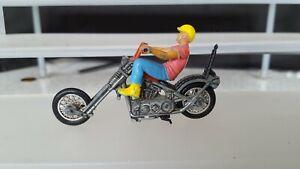 """Mattel Hot Wheels RRRumblers Rumblers Motorcycle """"Mean Machine""""...1970's.."""