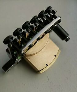 Brass Sustain/Tone Block Ibanez Edge Zero Tremolo Bridge Custom Hand Made ZPS