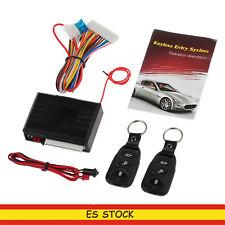 Sistema de Alarma ZV Con Cierre Centralizado2 Controles Remotos  Para Coche
