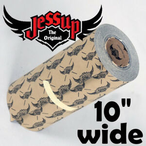 "JESSUP  Skateboard / Longboard Grip Tape  - 10"" Wide - Pick the length you need"