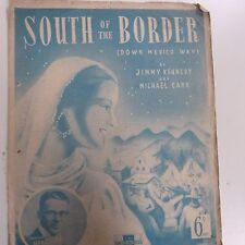 Songsheet al sur de la frontera (abajo México manera) Henry Hall 1939