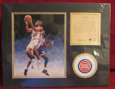 Grant Hill 1995 Matted Print 11x14 artwork from R. Cunningham