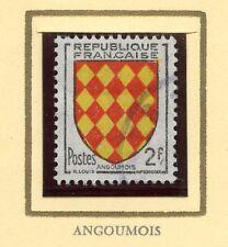 STAMP / TIMBRE FRANCE OBLITERE N° 1003  BLASON ANGOUMOIS