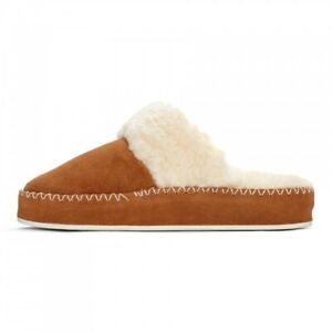 Womens Vionic Marley Luxury Suede & Wool Slippers
