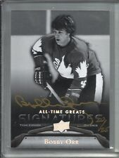 Bobby Orr 2012 Upper Deck All-Time Greats Autograph #20/25