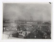 PHOTO ANCIENNE Koblenz Coblence Allemagne Ville Vue générale Vers 1930 Fumée
