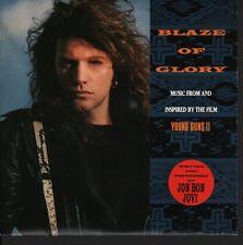 JON BON JOVI UK USA - BLAZE OF GLORY (YOUNG GUNS II) + YOU REALLY GOT ME NOW