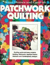 Better Homes & Gardens Patchwork and Quilting Hardcover 1977 Instructional Book