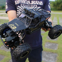 1:18 4WD RC Cars Alloy Speed 2.4Ghz Radio Control Alloy Off-Road Truck Toys Gift