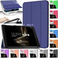 """Leather Magnetic Smart Stand Case Cover For Asus Zenpad 3S 10 Z500M 9.6"""" Inch"""