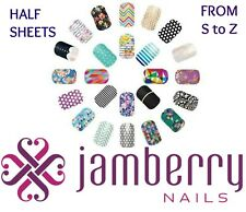 jamberry wraps half sheets with names from  * S to Z * buy 3 & get 1 FREE! 🎁
