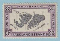 FALKLAND ISLANDS 69  MINT HINGED OG * NO FAULTS EXTRA FINE !
