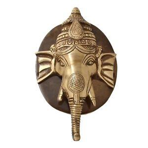 Ganesh Head Face Door Knocker Brass Hindu God Ganesha Door Knocker NEW Home Deco