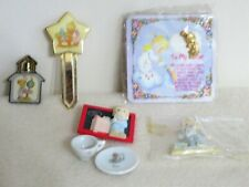 New ListingPrecious Moments - Lot of 8 items - Pins, Bookmarks, Magnets, China Set, Notepad