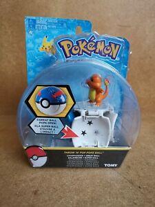 Pokemon Throw 'N' Pop Poke Ball Great Ball - Charmander - Brand New and Sealed