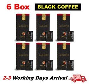 6 Boxes Organo Gold Black Coffee Ganoderma 30 Sachets/Box FREE EXPRESS SHIPPING