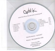 (DF154) Capitol K, Notes From Life On The Wire With A Wrecking Ball - 2008 DJ CD