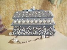 Just The Right Shoe ~ Accessories ~ Frosted Fantasy Purse Trinket Box