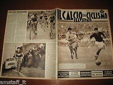 IL CALCIO E CICLISMO ILLUSTRATO 1959/42=ROMA LAZIO 3-0= ERIK VAN LOOY=