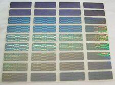 "100 + 8 FREE SVAG Security Seals Tamper Evident Labels Sticker Seals .5"" x 1.5"""