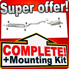 Opel/Vauxhall Zafira B 1.9 CDTi without DPF from2005 Silencer Exhaust System 778