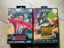 Sega Mega Drive Spiele Football  +. Jungle Strike