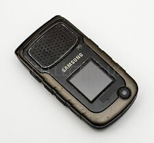 Used Samsung Rugby II 2 Bell Canada SGH A847M Black GSM Rugged Flip Phone