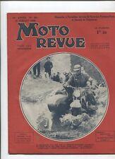 Moto Revue N°801 ; 15 juillet 1938  : Paris-Les pyrénées-Paris / gnome-rhone