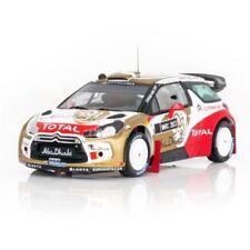CITROEN DS3 WRC 2013 ABU DABHI WORLD RALLY TEAM PRESENTATION IXO RAM519 1/43