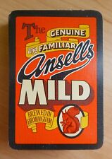 More details for ansells mild brewed in birmingham playing cards full deck 1980s beer advertising