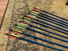 10 Easton Genesis 1820 Blue Arrows, 30�.