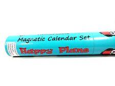 Calendar Dry Erase Monthly Magnetic Board Planner White Large FridgeSet Magnet
