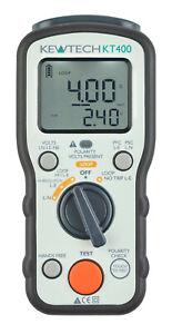 Kewtech KT400 Loop Impendance & PSC / PFC Tester