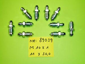 10x  Entlüfterschraube   Bremssattel   Bremstrommel      M10x1    -       11x30
