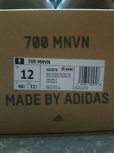 "Adidas Yeezy Boost 700 MNVN ""BRIGHT CYAN"" US MEN SIZE 12"